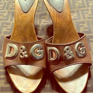 Authentic Dolce & Gabbana Mules